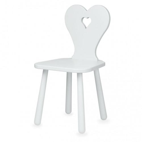 Židlička Heart šedá