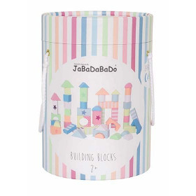 JaBaDaBaDo Stavebnice Dřevěné Kostky - Colour line