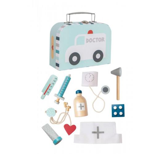 JaBaDaBaDo Lékařský kufřík modrý