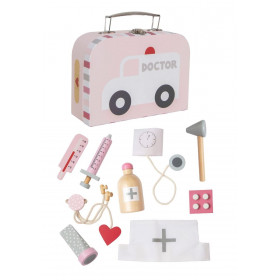 JaBaDaBaDo Lékařský kufřík růžový