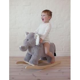 JaBaDaBaDo Plyšový Houpací slon