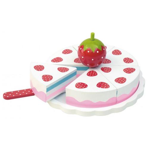 JaBaDaBaDo Dřevěný Jahodový dort