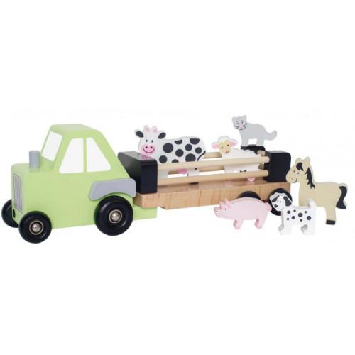 JaBaDaBaDo Farmárské auto s přívěsem