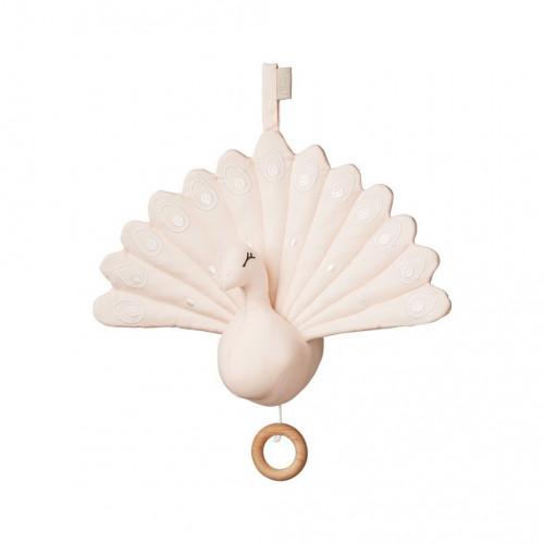 Hudební hračka Peacock růžová