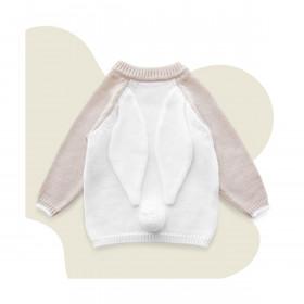 dětský svetr z vlny merino Bunny len