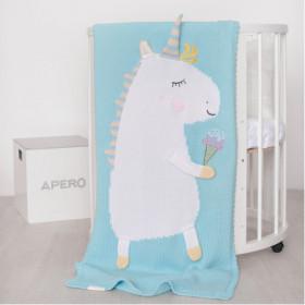 bavlněná deka unicorn