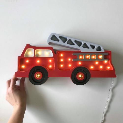 Lampa Little Lights Hasičský vůz