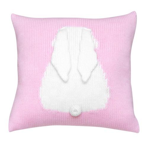 bunny polštářek světle růžový
