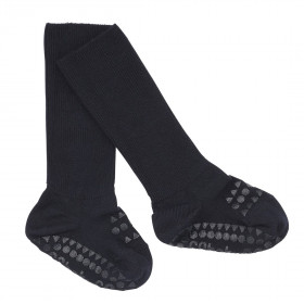 GoBabyGo protiskluzové ponožky bambusové tmavě modré