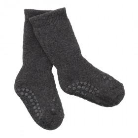 GoBabyGo protiskluzové ponožky tmavě šedé