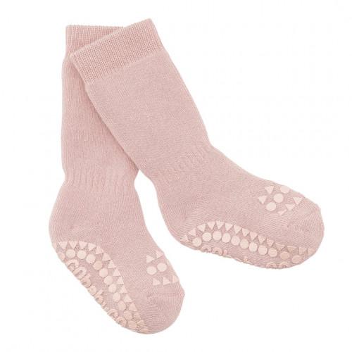 GoBabyGo protiskluzové ponožky růžové