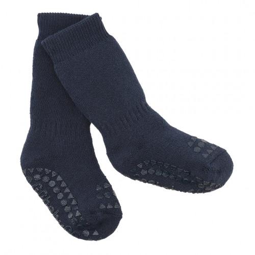 GoBabyGo protiskluzové ponožky tmavě modré