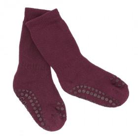 GoBabyGo protiskluzové ponožky švestka