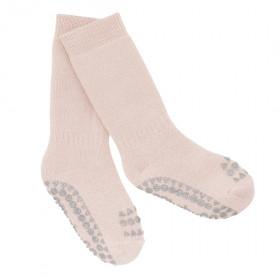 GoBabyGo protiskluzové ponožky světle růžové
