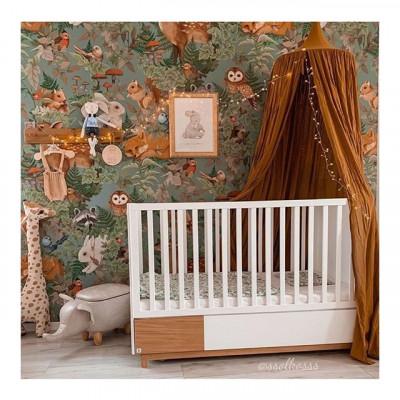 Dětská rozkládací postýlka NOMI, 70*140 cm. . . . . Objednejte si v našem e-shopu WWW.BABYMDECOR.CZ . . . #detskapostylka #postylka #detskypokoj #detskydesign #pokojicek #kidsroomdecor #nordicroom #miluji #mimidoplnky #designforkids #pokojprodeti #baby_m_decor